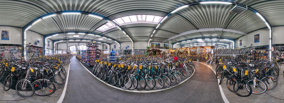 E Bike Teststrecke